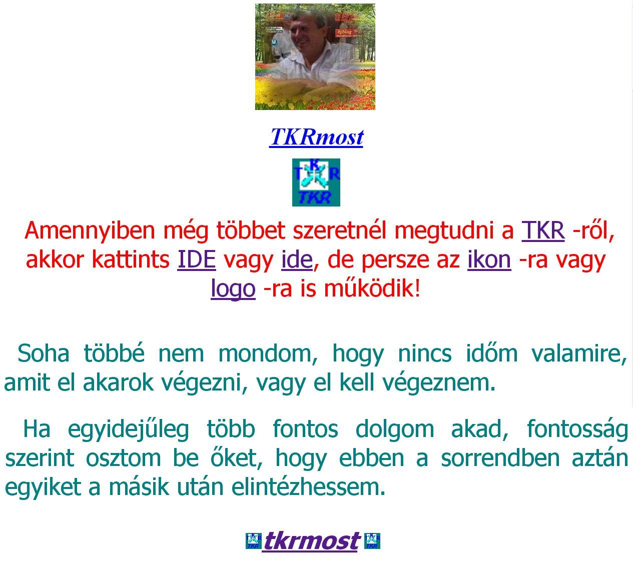 banjozsef.hu - TKR, Bjsoft, TKR 366, bjSql, bjblog !